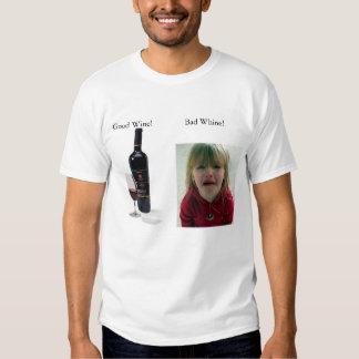 Wine vs. Whine Tee Shirts