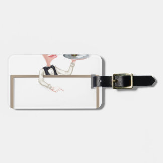 Wine Waiter Sign Tags For Luggage