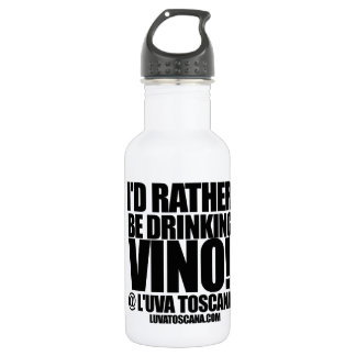 WINE! WATER BOTTLE