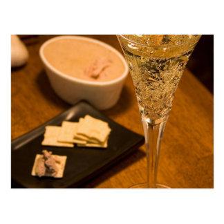Wine White Postcard