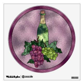 Wine Wine WIne Wall Sticker