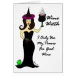 Wine Witch All Occasion Card