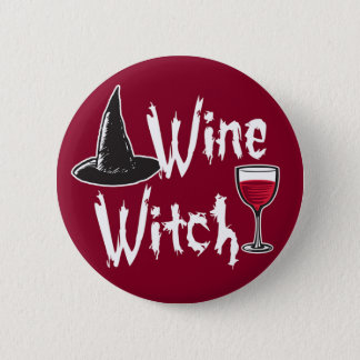 Wine Witch Button