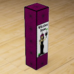"""Wine Witch """"Witches Brew"""" Halloween Wine Gift Box"""