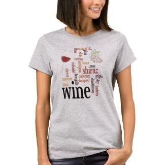 Wine Word Cloud Design