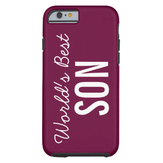 Wine World's Best Son Custom iPhone 6 Case