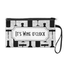 Wine Wristlet Purse