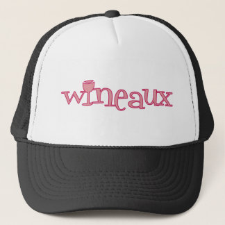 Wineaux (bur) trucker hat