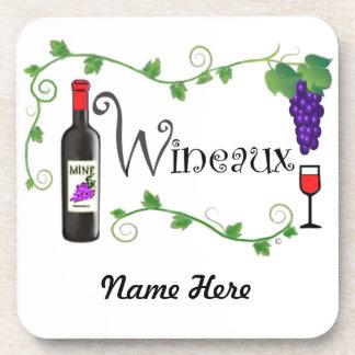 Wineaux Coaster