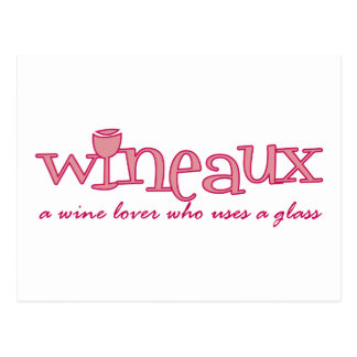 Wineaux defined post card