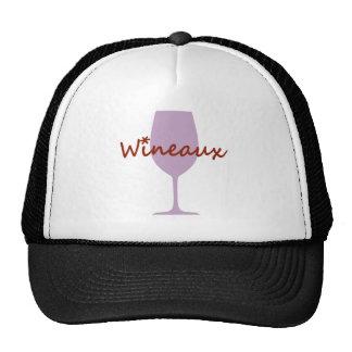 wineaux trucker hat