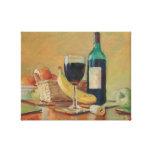 WineBottle.jpg Lienzo Envuelto Para Galerias