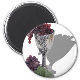 WineChaliceGrapes060910shadows Magnet