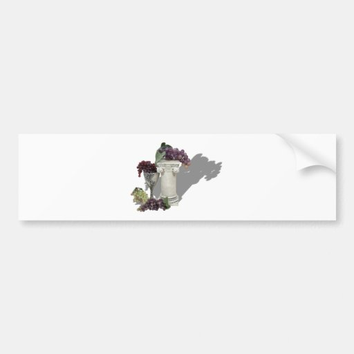 WineCountry060910Shadows Car Bumper Sticker