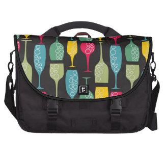 Wineglass Laptop Messenger Bag