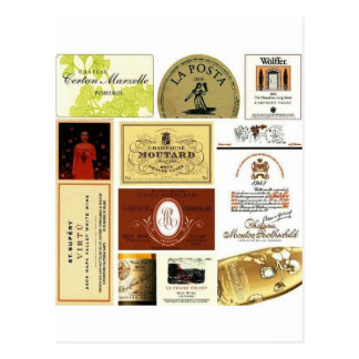 winelabel-inspiración tarjeta postal