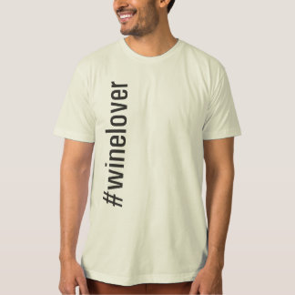 #winelover Vertical T-Shirt