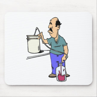 Winemaker # 04 mouse pad
