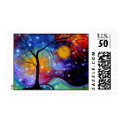 Winer Sparkle Circle of Life MADART Painting Postage
