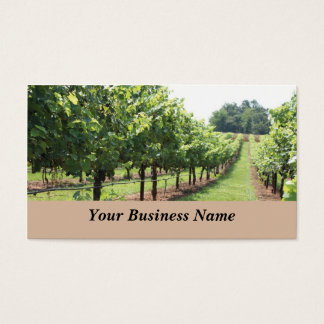 Winery and Vineyard Business Card