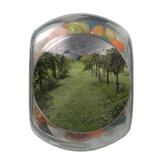 Winery Glass Jars