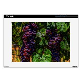 Winery Grapevine sunny tuscany vineyard grapes Laptop Skin