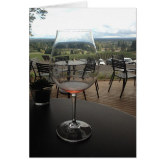 Winery Note Card
