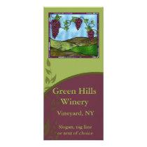 Winery Rack Card