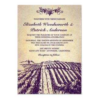 vineyard wedding invitation - Vineyard Wedding Invitations