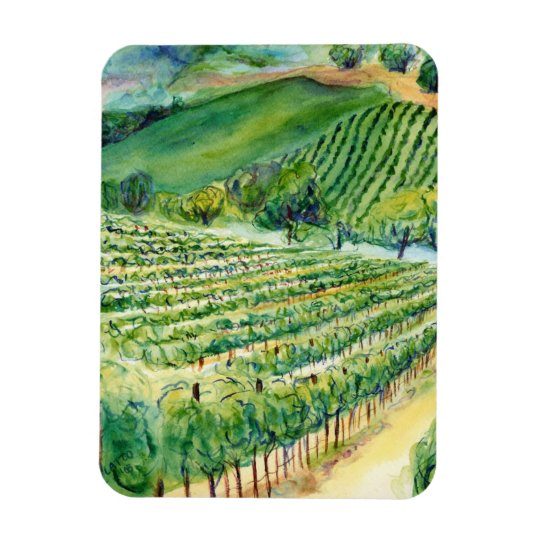 Winery Vineyard Magnet