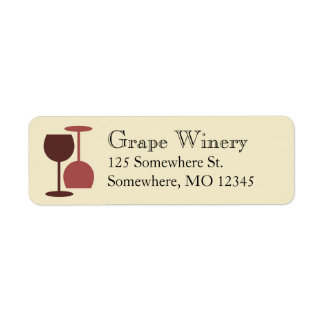 Winery/Wine Bar Labels