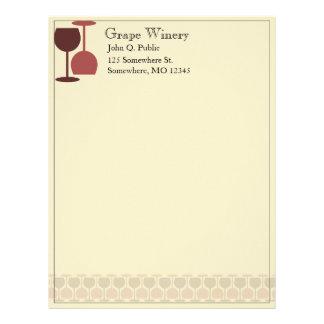 Winery/Wine Bar Letterhead