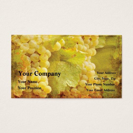 Winery Wine Restaurant Vineyard Business Cards
