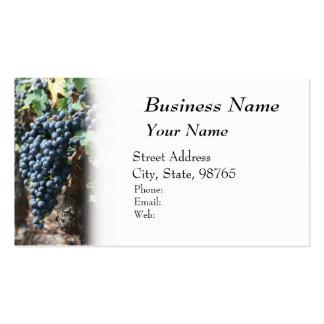 Winery, Wine, Vineyard Business Card