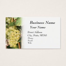 Winery, Wine, Vineyard Business Card at Zazzle