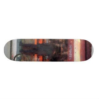 Wines and Spirits Greenwich Village Skateboard Deck
