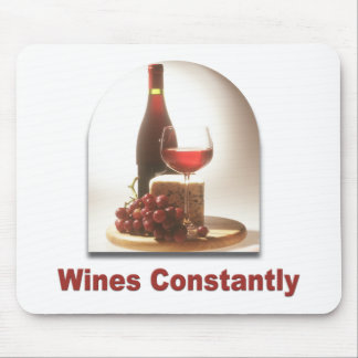 Wines Constantly #2 Mouse Pad