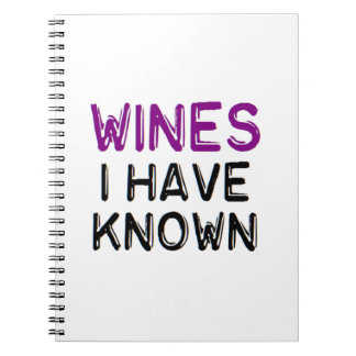 Wines I have known Journal