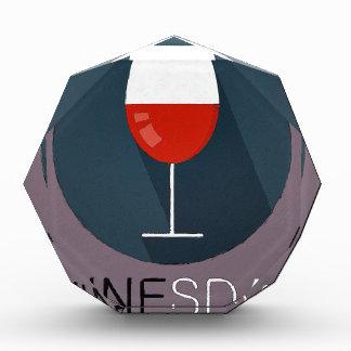 Winesday Acrylic Award
