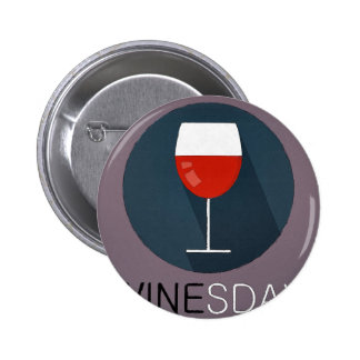 Winesday 2 Inch Round Button