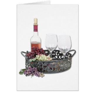 WineServingTray Felicitación
