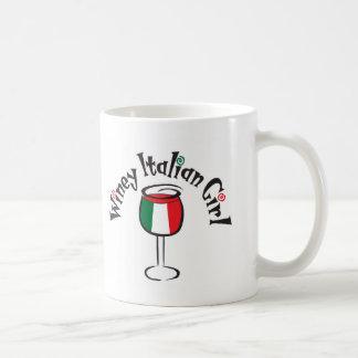 Winey Italian Girl4 Coffee Mug
