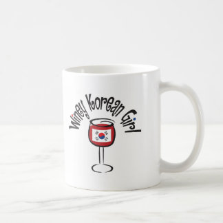 Winey Korean Girl4 Coffee Mug
