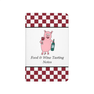 Winey Pig Food and Wine Tasting Notes Journal