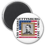 Winfield Scott Hancock - 150th Gettysburg 2 Inch Round Magnet