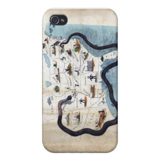 Winfield Scott's Great Snake Anaconda Plan Case For iPhone 4