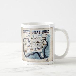 Winfield Scott's Great Snake Anaconda Plan Mug