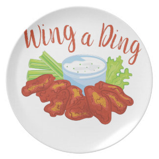 Wing A Ding Plate