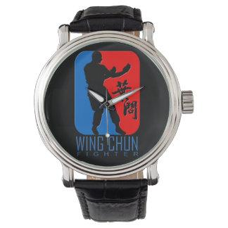 Wing Chun Fighter Emblem Watch