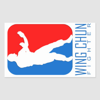 Wing Chun Fighter - Ip Man Linage Rectangle Sticker